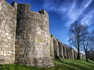 York City Walls, blue sky