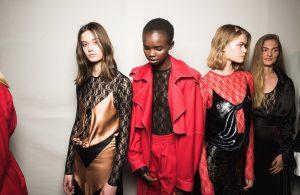 models at York Fashion Week