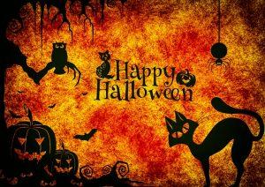Happy Halloween Motif