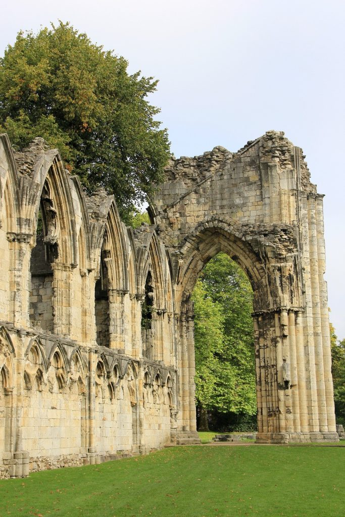 St Mary's Abbey in York