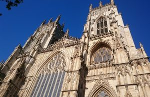 View of York Minster in the summer