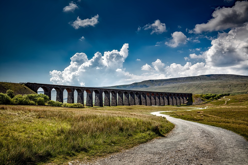 Ribblehead Viaduct in Yorkshire