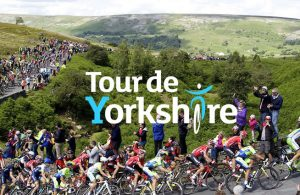 Tour De Yorkshire Cyclists