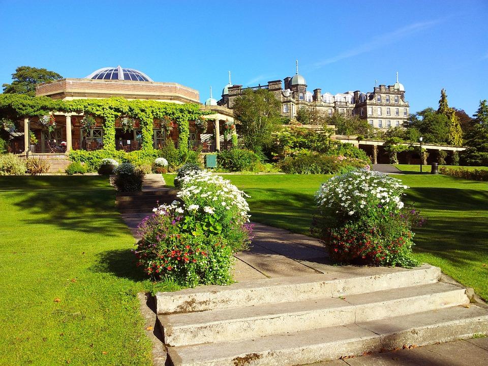 The Valley Gardens in Harrogate